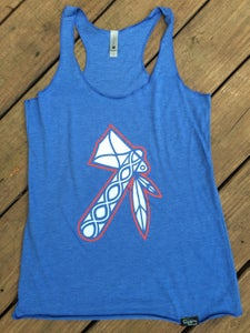 Image of Tomahawk Tank Top - Royal Blue - Women