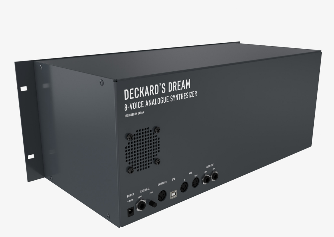 Image of Deckard's Dream Front panel and Rack Case (Rev 1)