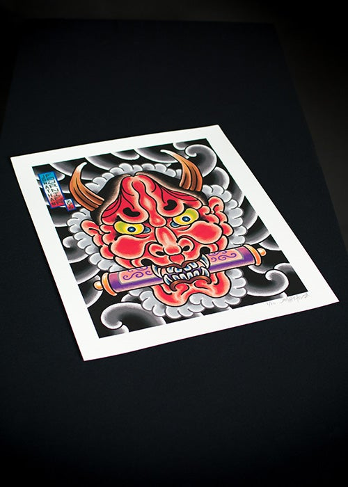 Image of Hannya Limited Edition Print