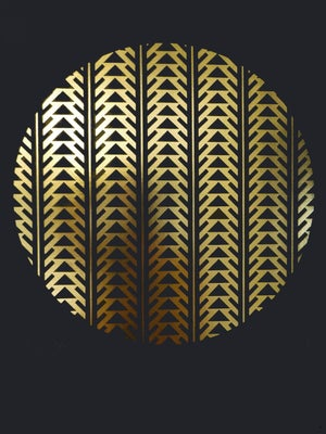 Image of 'Ascension' - Limited Edition Gold foil screenprint