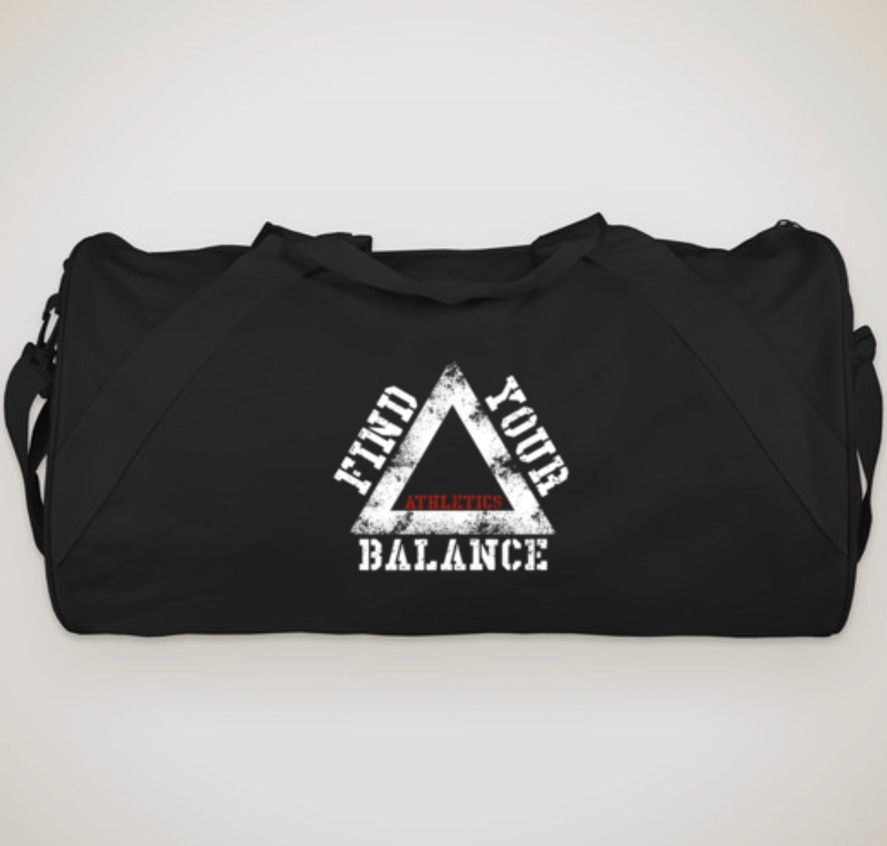 """Image of THE """"ESSENTIAL"""" DUFFLE - BLACK"""