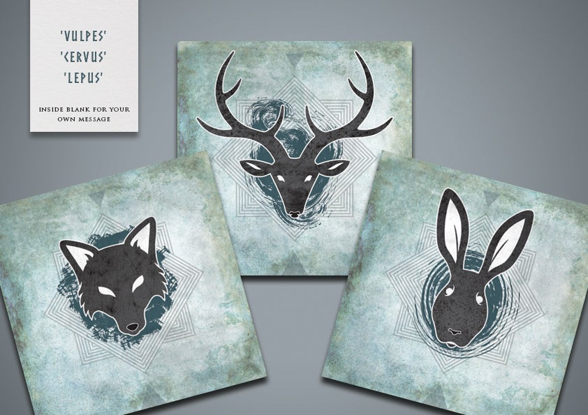 Image of Wild Greetings Cards (pack)