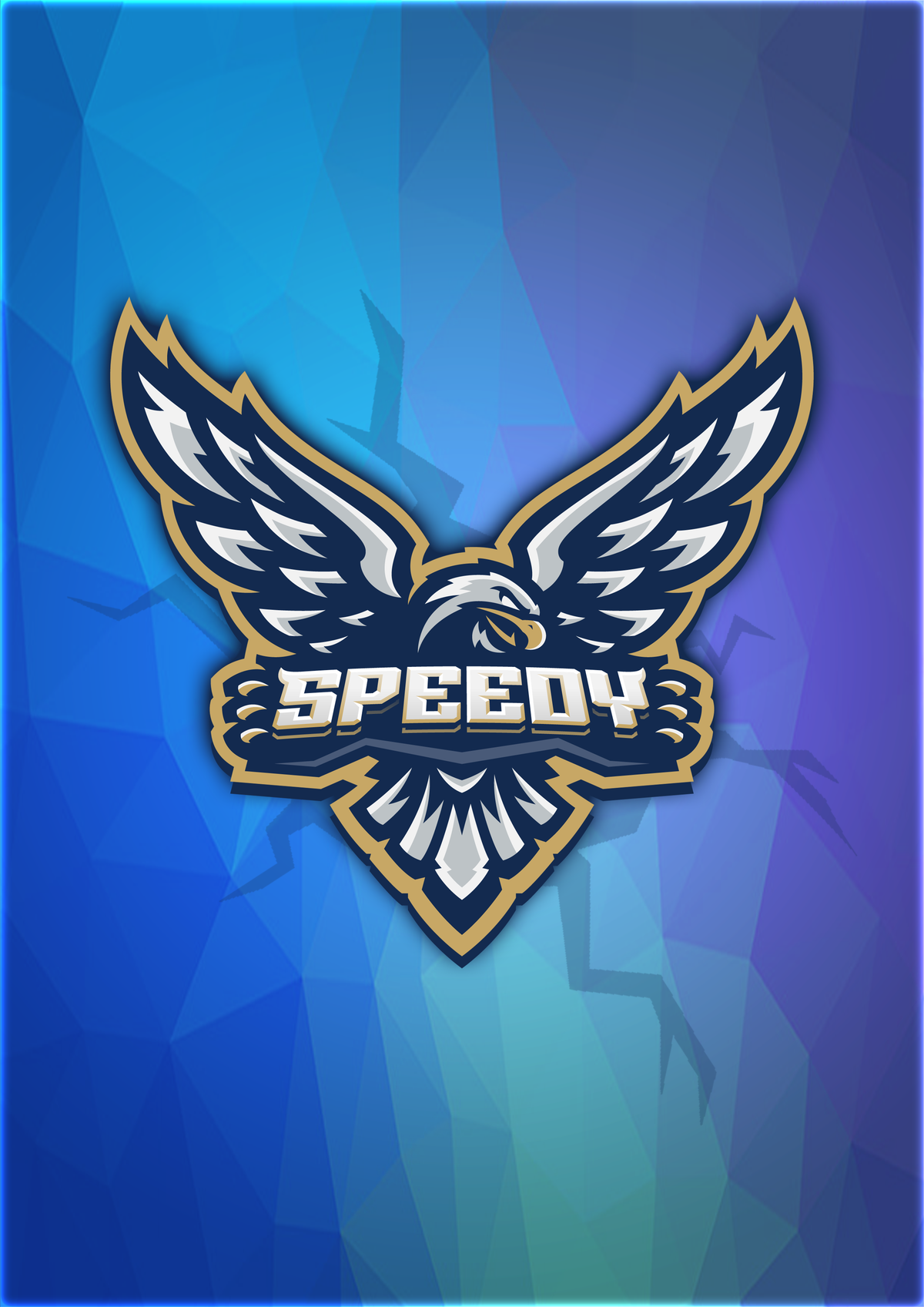 Image of Official SIGNED Speedy Logo Poster