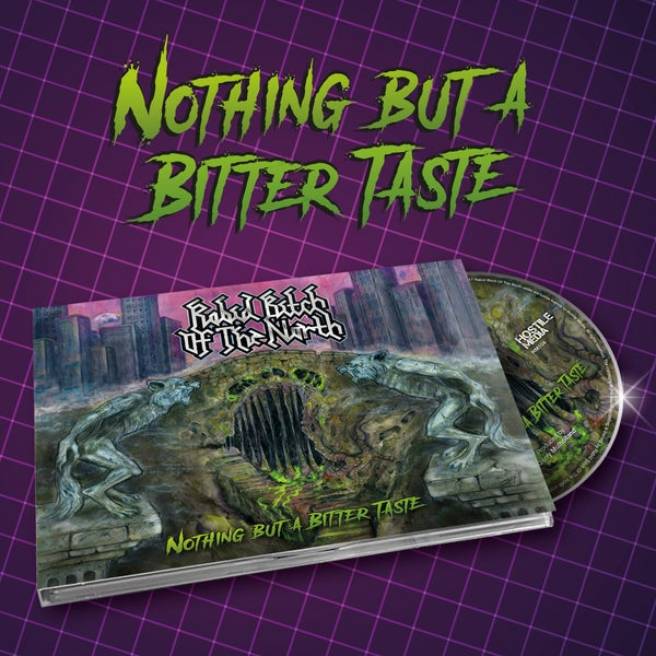 Image of NOTHING BUT A BITTER TASTE - DIGIPAK CD