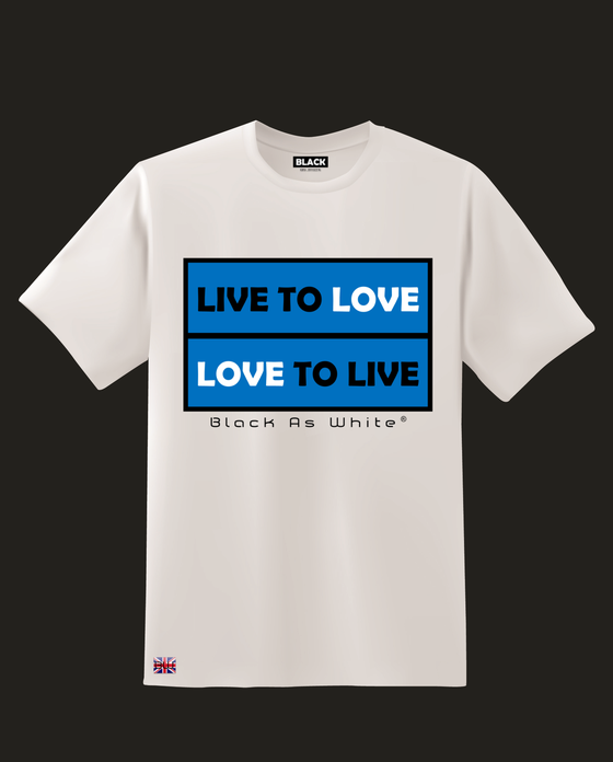 Image of Live to Love Conscious T Shirt