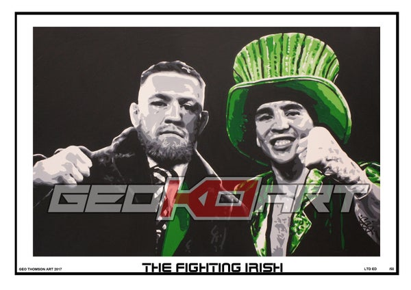 Image of CONOR McGREGOR & MICHAEL CONLAN