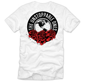 Image of SOLD OUT | WHITE UNSTOPPABLE ONES SUMMER TEE | EXCLUSIVE RELEASE