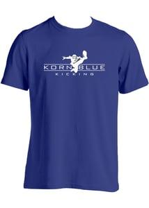Image of Kornblue Kicking Dri-Fit Navy Short Sleeve Shirt