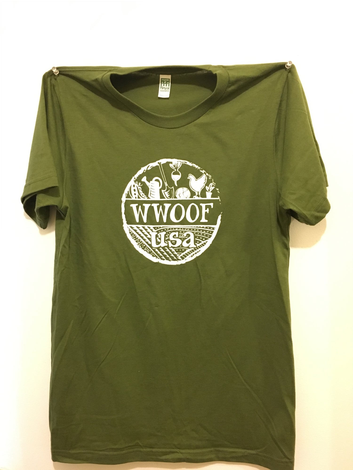 Image of WWOOF-USA Men's T-shirt