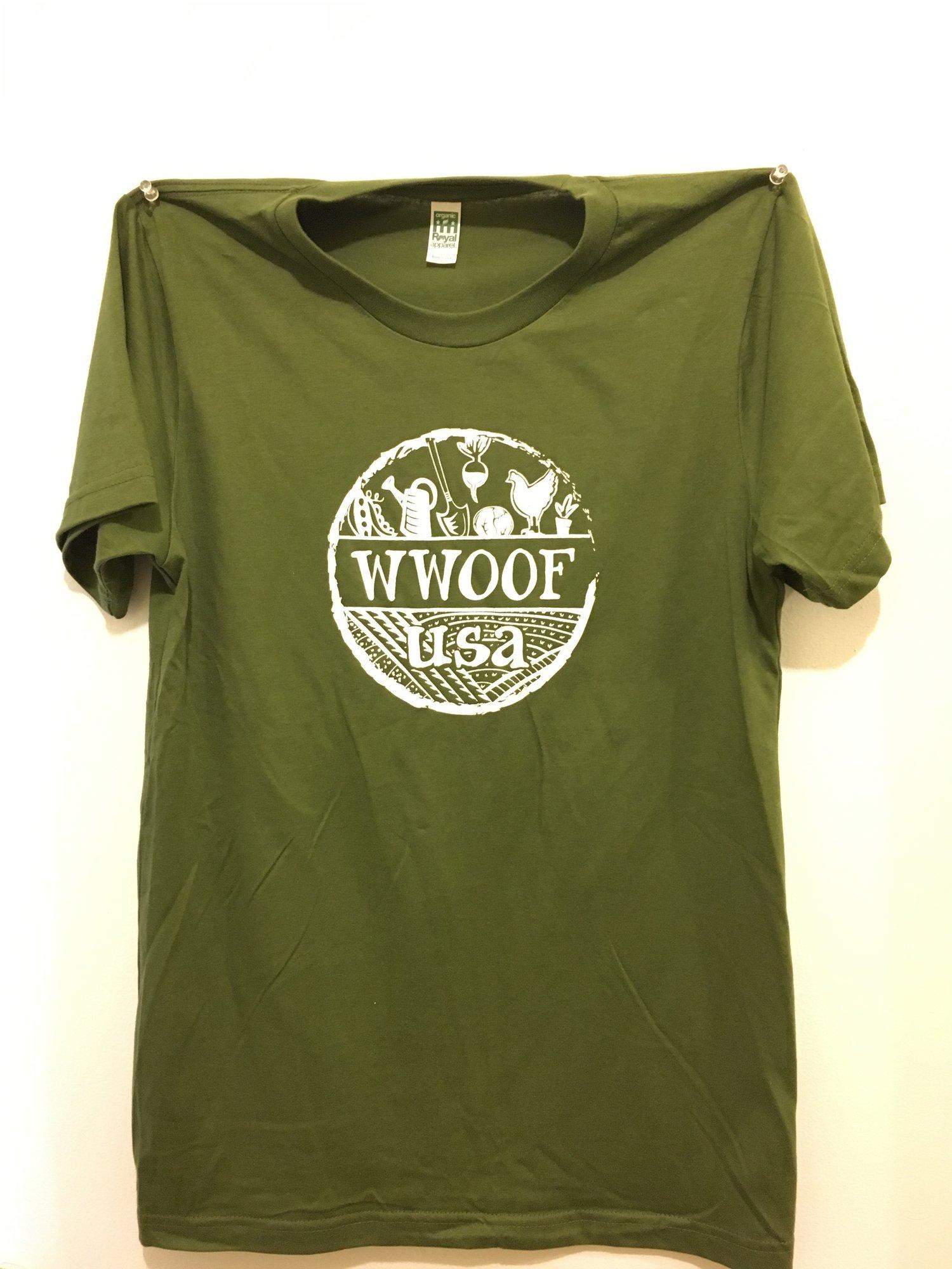 Image of WWOOF-USA Unisex T-shirt
