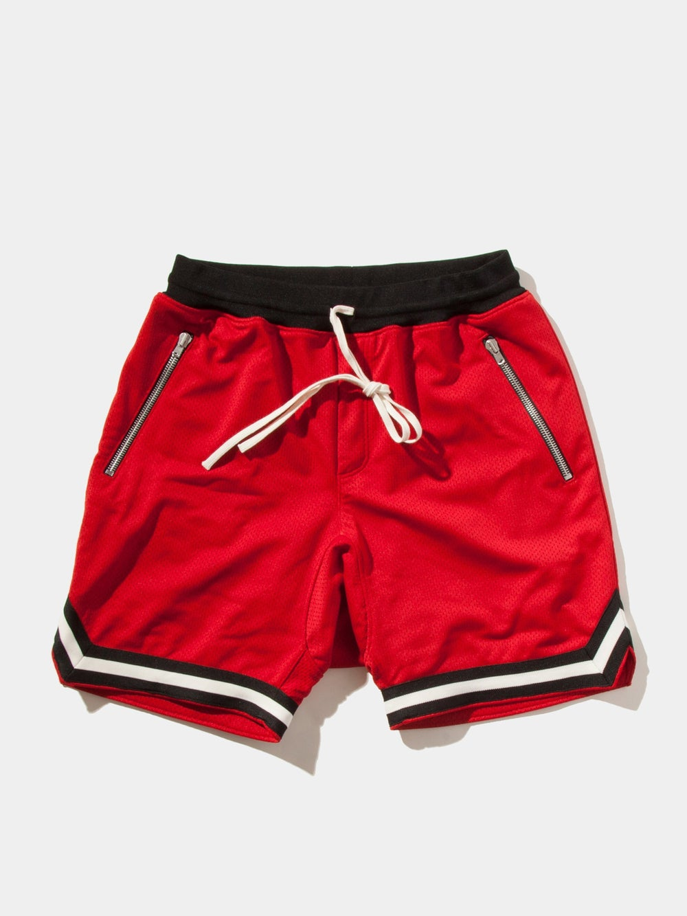 FEAR OF GOD MESH DROP CROTCH SHORTS FIFTH COLLECTION 'RED'