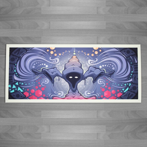 Image of Cosmic Wizard Print
