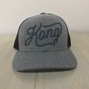 Image of Kong Script Heather Meshback
