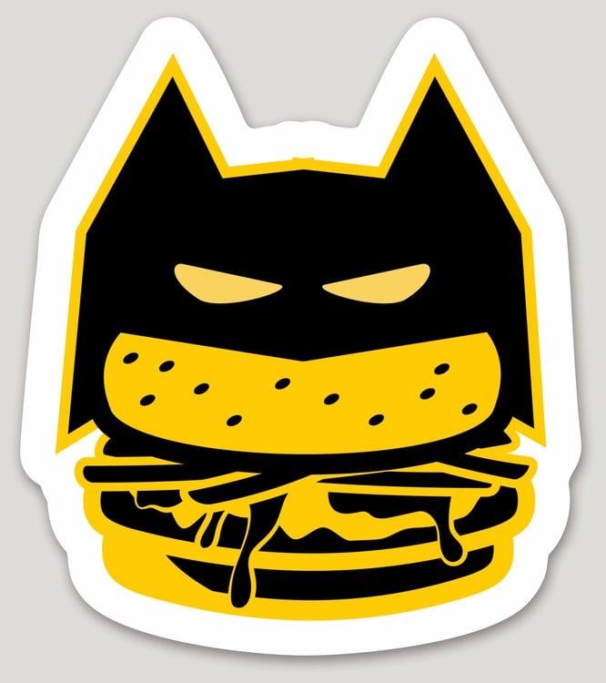 Image of The Dark Knight Laptop Sticker