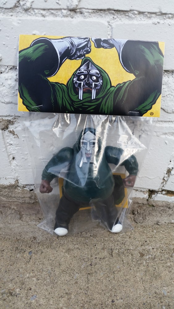 Image of 100% Unofficial MF DOOM by Life is Terrible Toys x Grimjob69