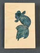 Image of Cynthia Thornton—Goldfish Painting on Wood