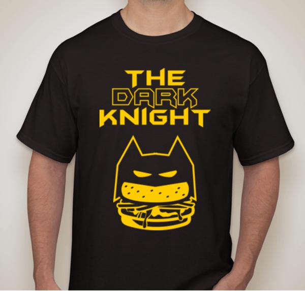 Image of Tri-Blend Dark Knight Tee