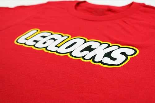 "Image of AGGRO BRAND ""Brick"" Leglocks Shirt (Ladies')"
