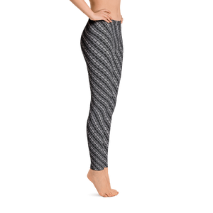 Image of Alaska Pattern Leggings - Slate