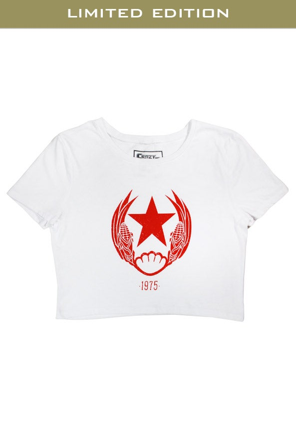Image of 1975 Ladies Crop Top