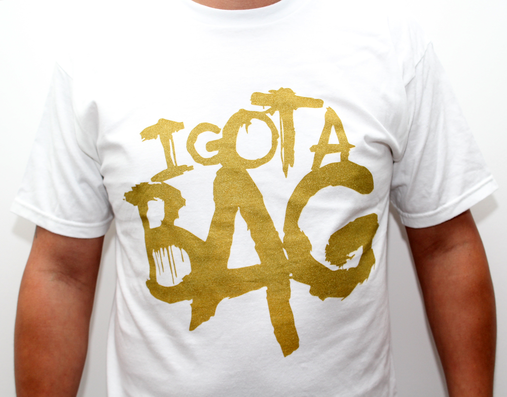Image of I Got A Bag Tee (White)