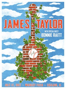 Image of James Taylor Wrigley Field 2017