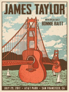 Image of James Taylor San Francisco 2017
