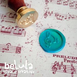 Image of Sello de lacre: Corazón Musical