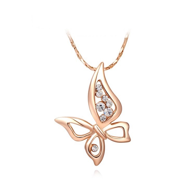Image of BUttafly necklace