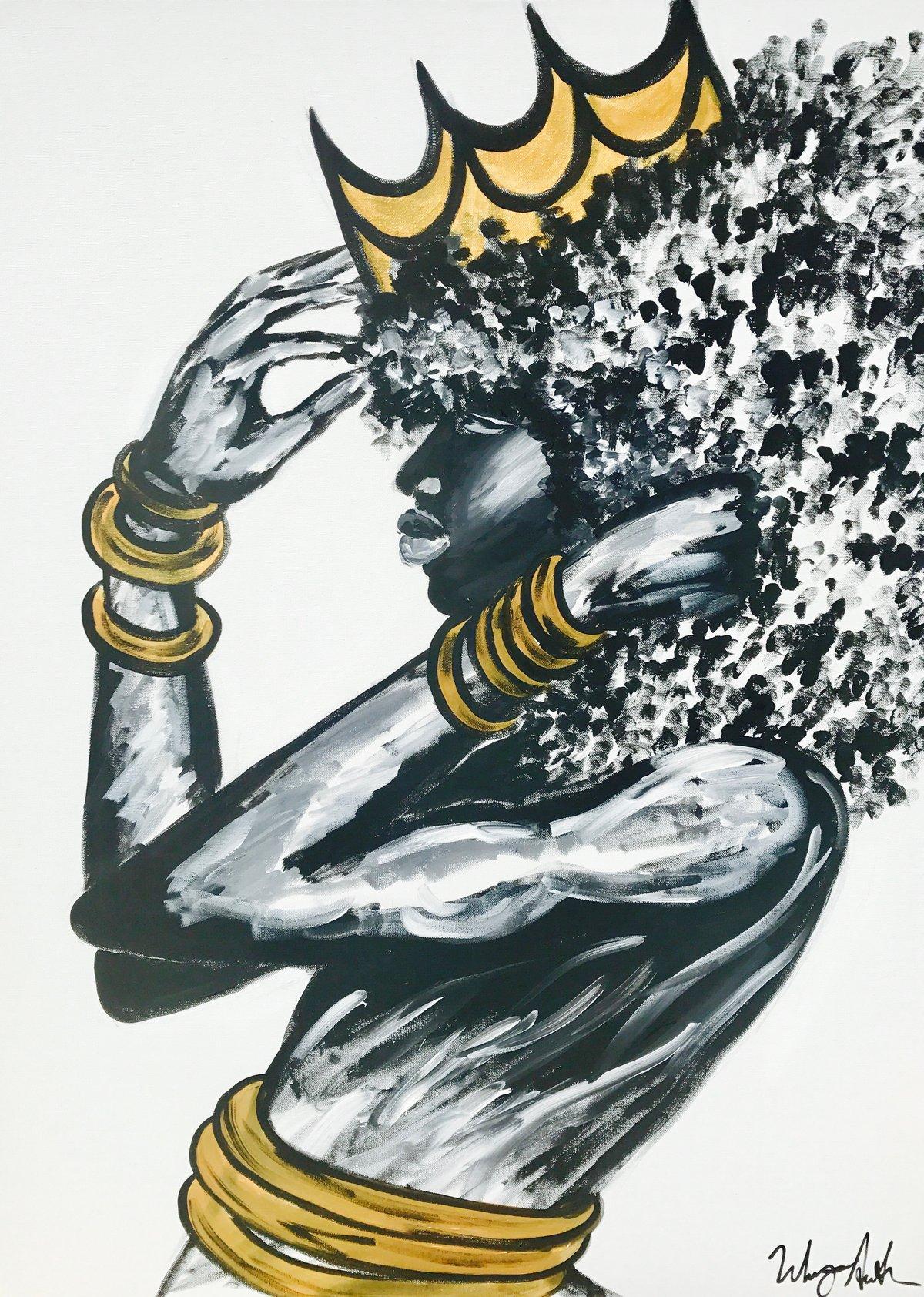 "Image of ""Crowned"" Fine Art Print"