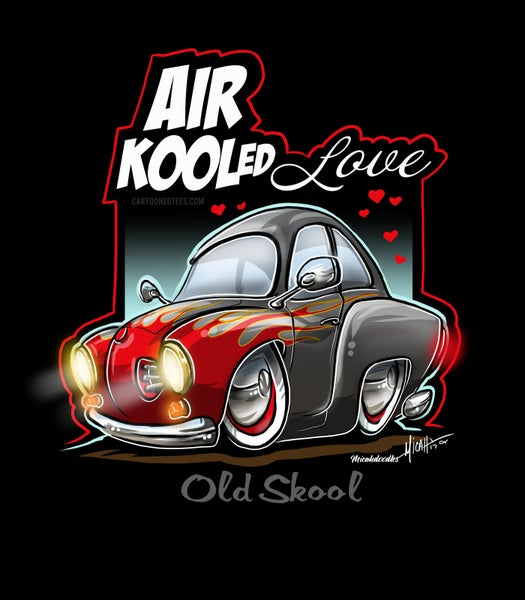 Image of AIR KOOLED LOVE FLAMES
