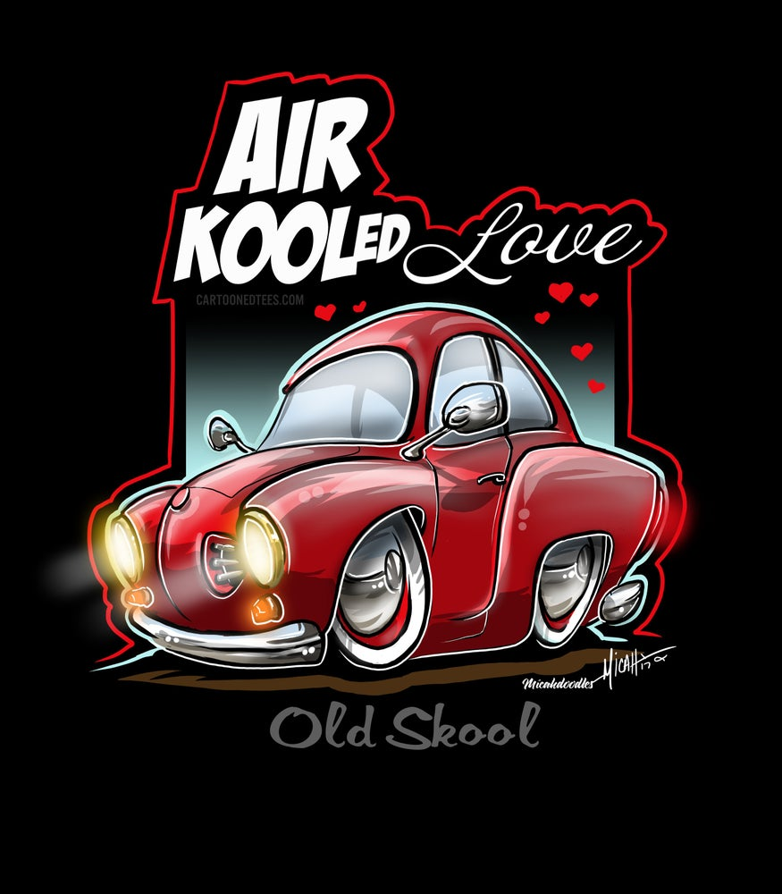 Image of AIR KOOLED LOVE RED
