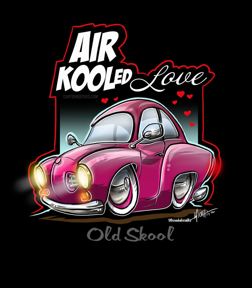Image of AIR KOOLED LOVE PINK