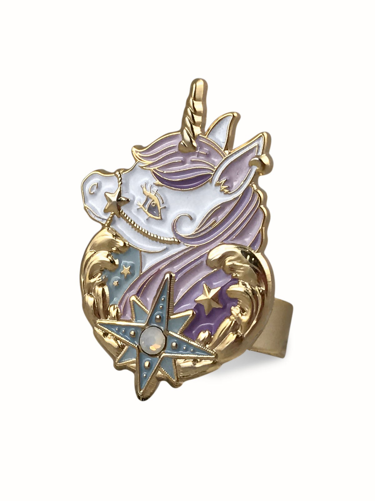 Image of Dreamy Unicorn Ring · Lavender