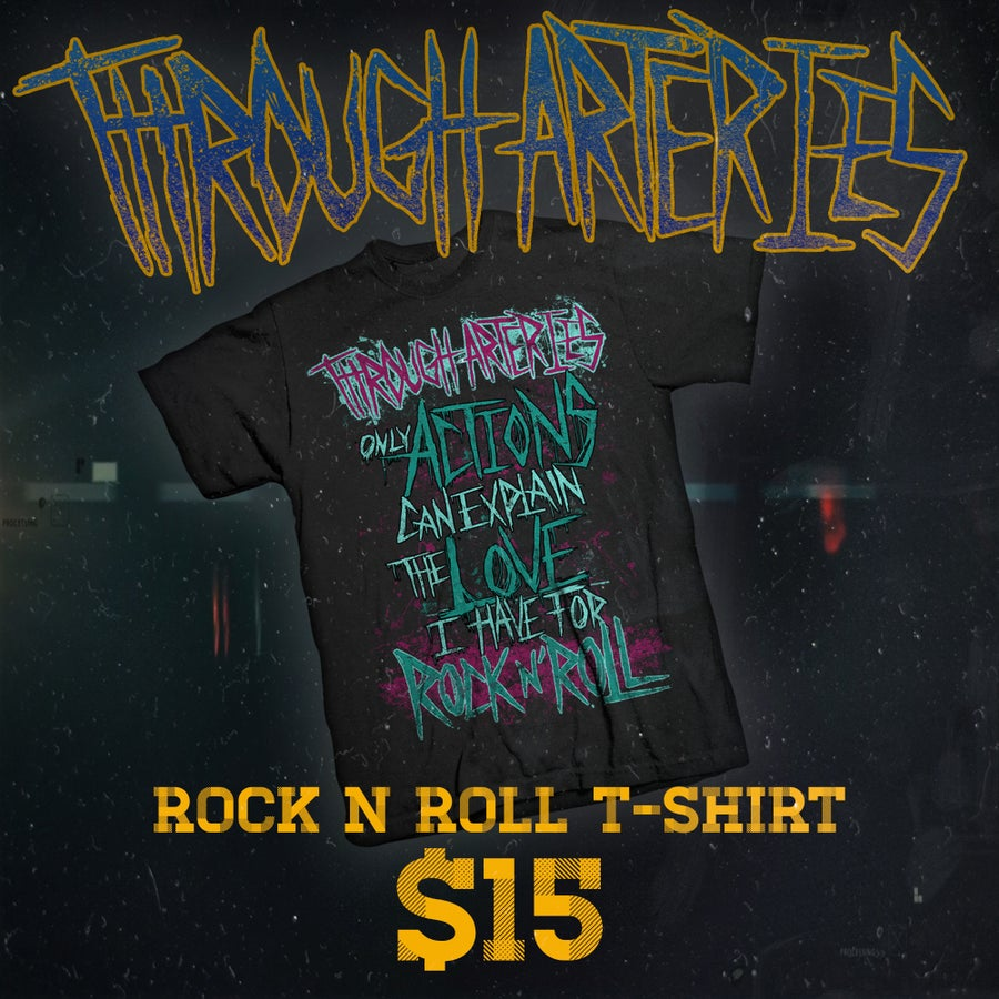 Image of ROCK N ROLL T-SHIRT