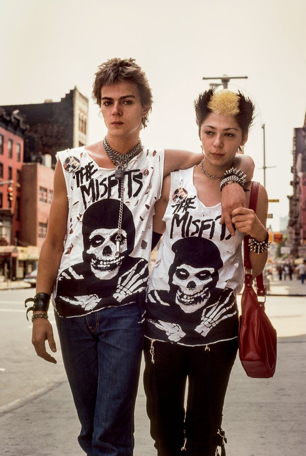 Image of The Misfits. New York, NY 1981