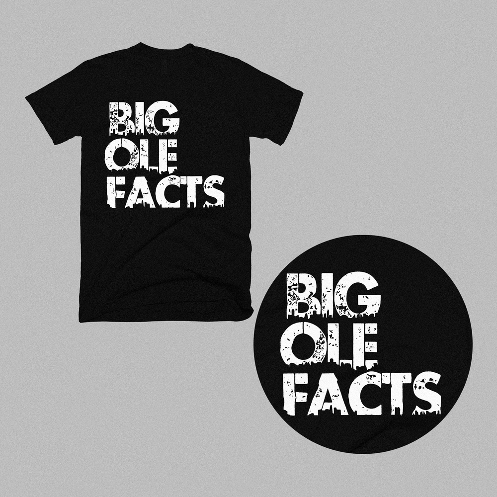 Image of Big Ole Facts Shirt (Black)