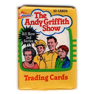 Image of ANDY GRIFFITH SHOW TRADING CARDS - 1991