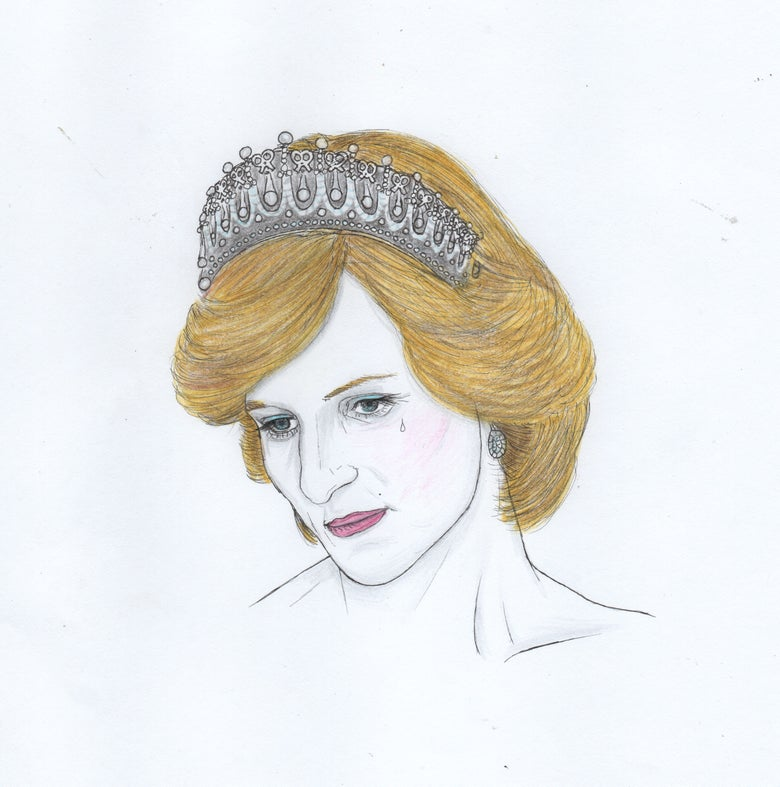 Image of princess diana portrait