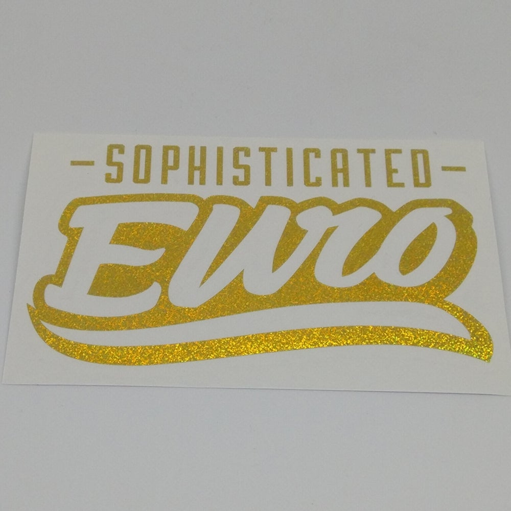 Image of Sophisticated Euro Diecut stickers