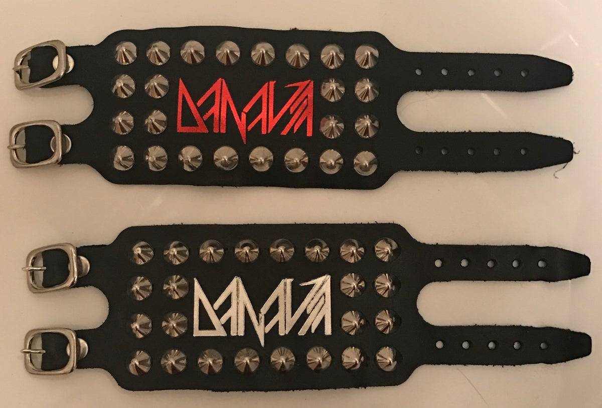 Image of 13th Anniversary Handmade Leather Cuffs