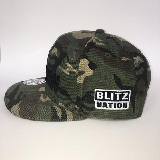 Image of BLITZBROS CAMO CAP