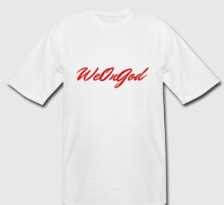 Image of We On God © - T shirt | Original Red