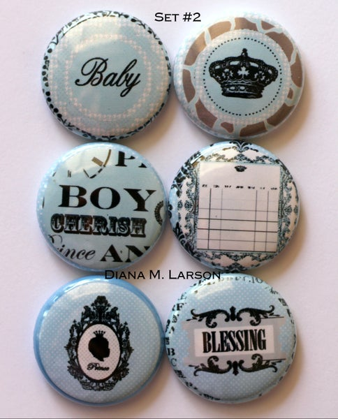 Image of Baby Flair buttons 1""