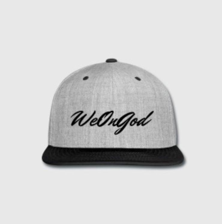 Image of We On God © - Snapback | Black & Grey Original