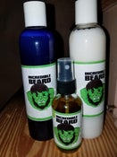 Image of INCREDIBLE BEARD WASH,CONDITIONER AND OIL