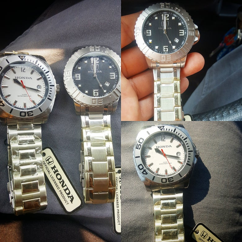 Image of Nos Honda Watchs