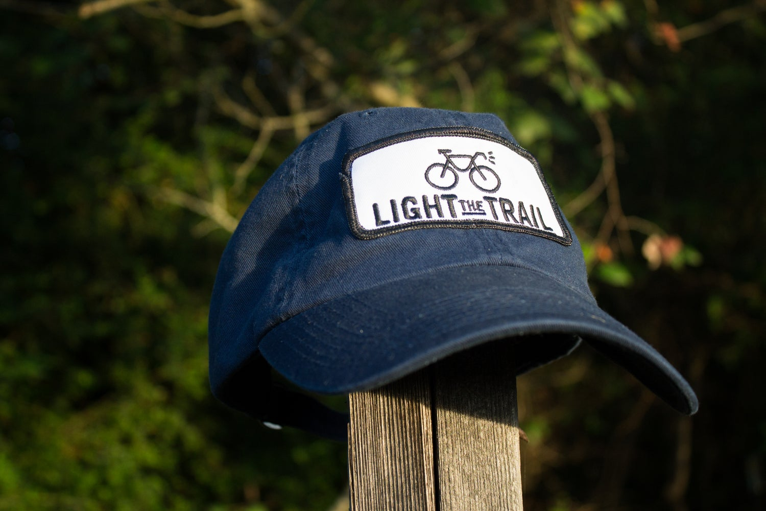 Image of Light the Trail Navy Patch Cap