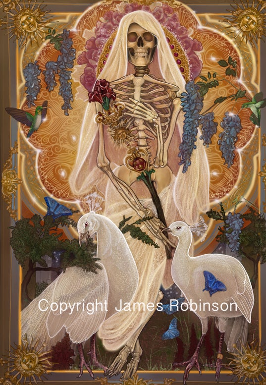 Image of Summer Skeleton A3 by James Robinson