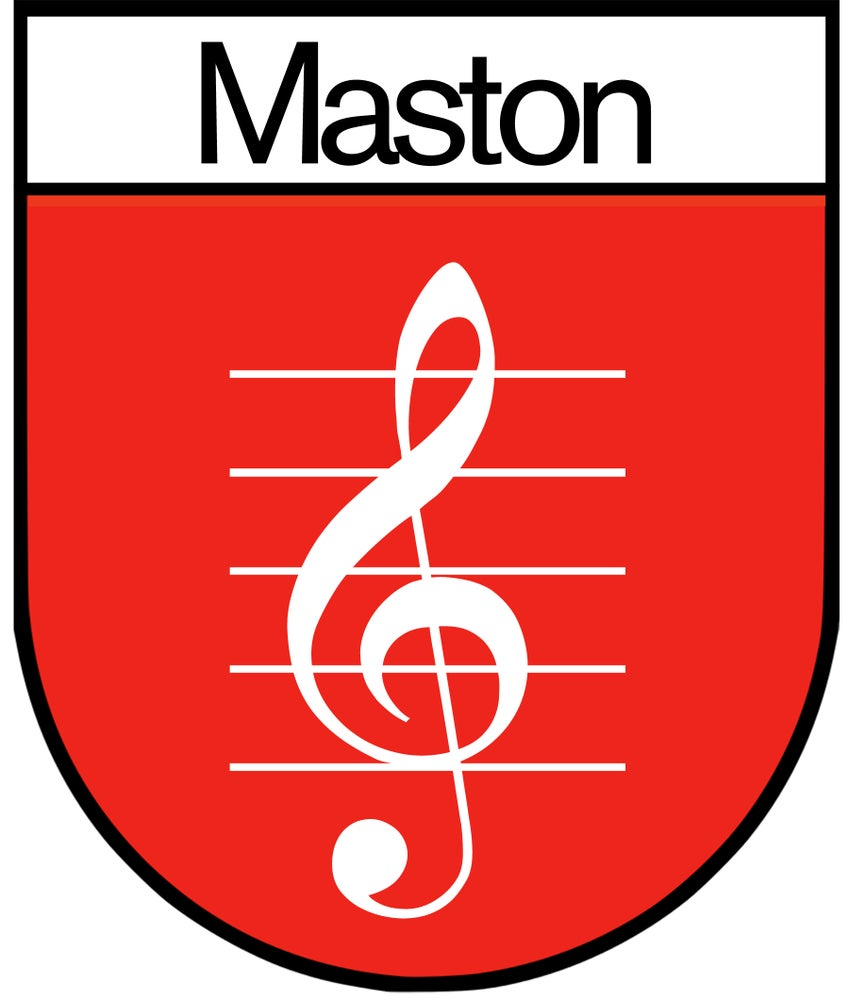 "Image of ""Maston"" 𝄞 Sticker/Decal"